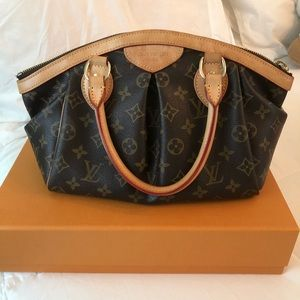 Louis Vuitton Tívoli PM Monogram Leather Satchel